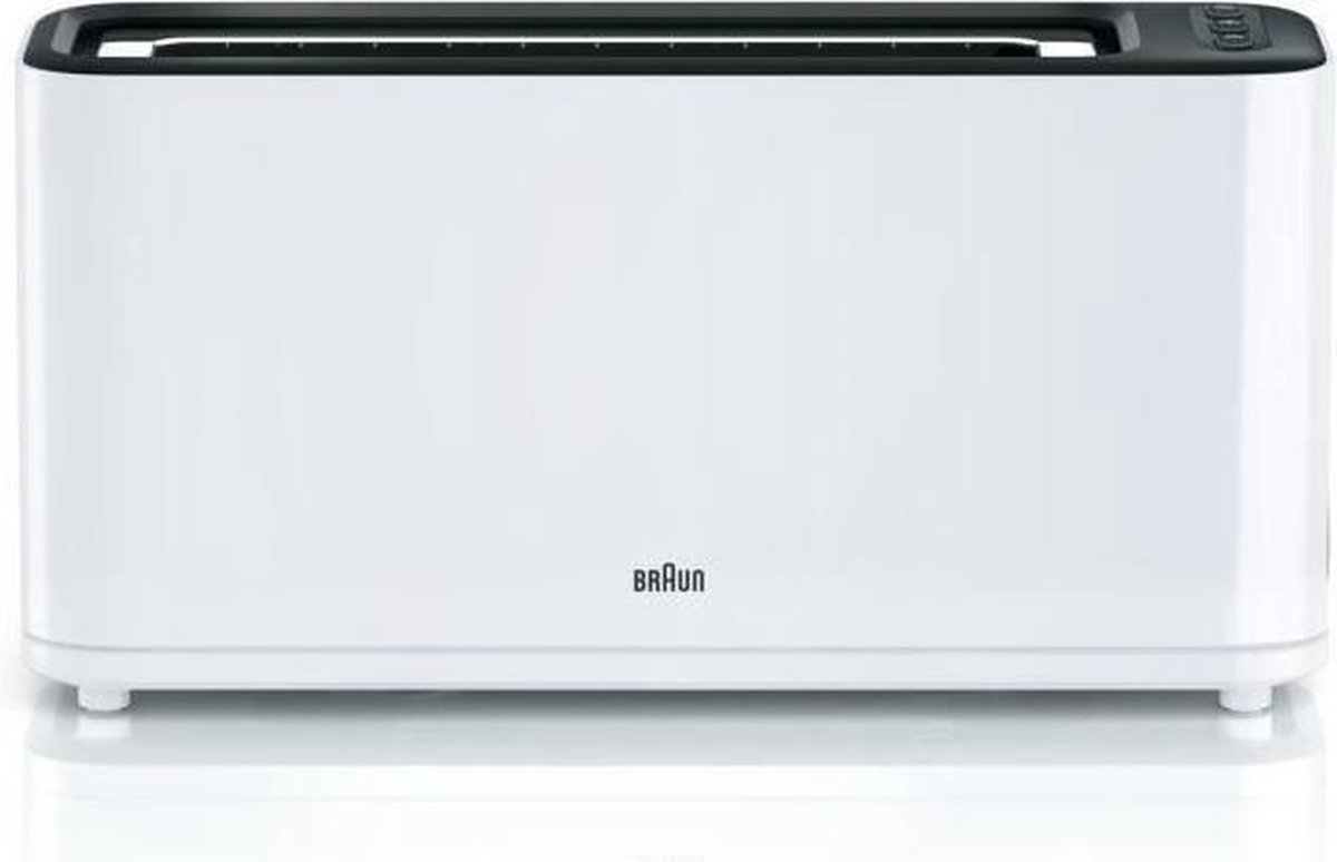BRAUN HT3100WH Broodrooster - 1 slot - 1000W