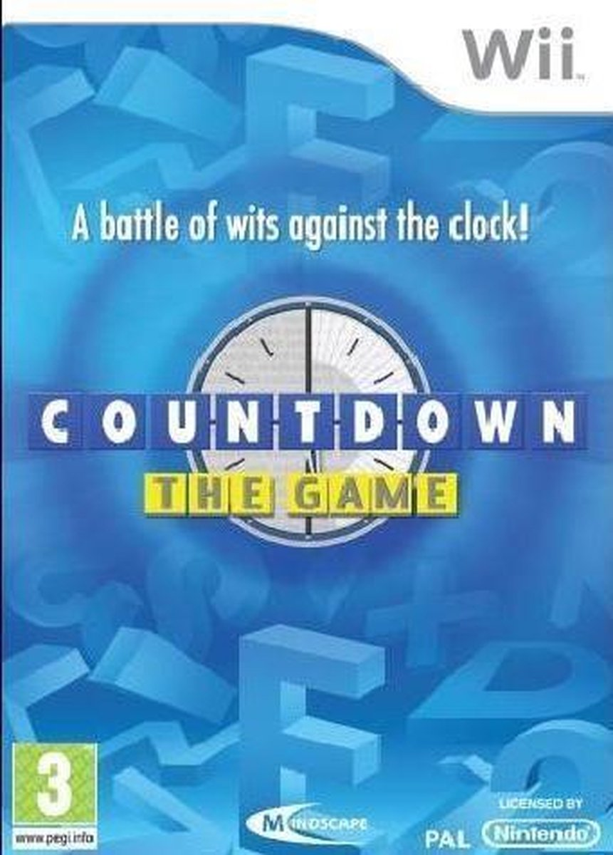 Countdown: The Game /Wii