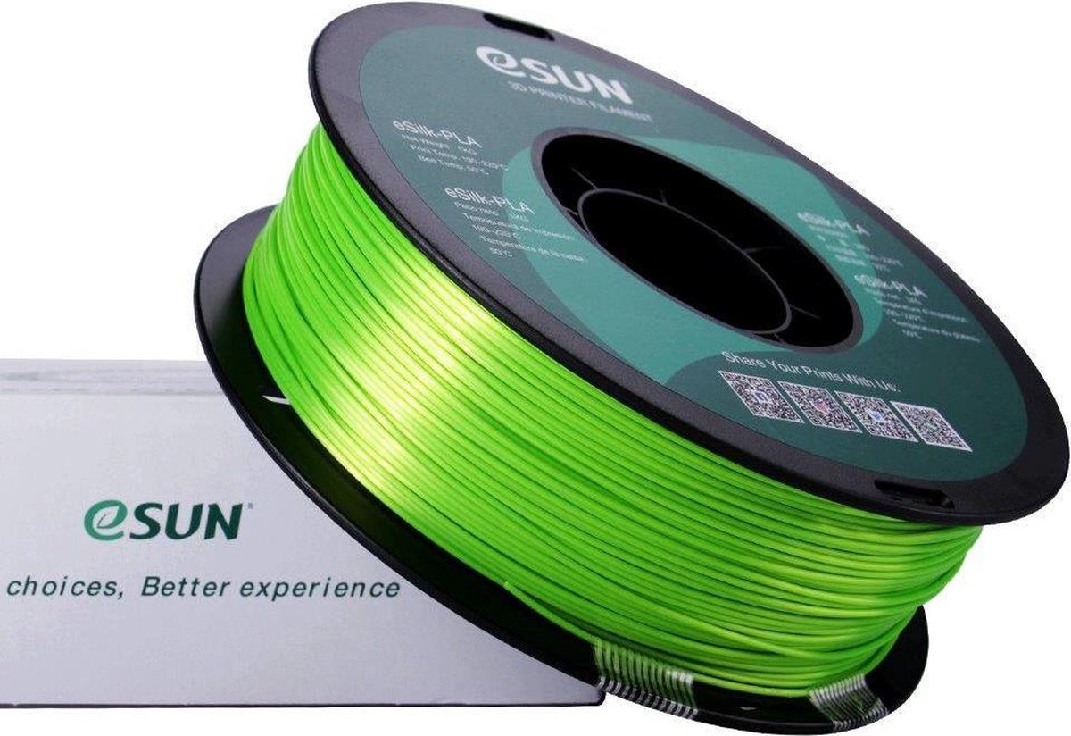 1.75mm limoen eSilk PLA filament 1Kg