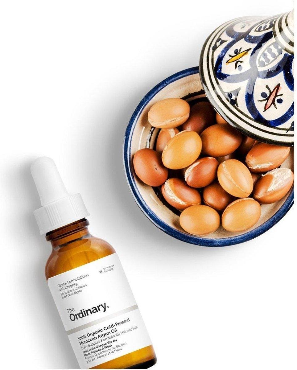 100% Organic Cold-Pressed Moroccan Argan Oil |Arganolie - The Ordinary