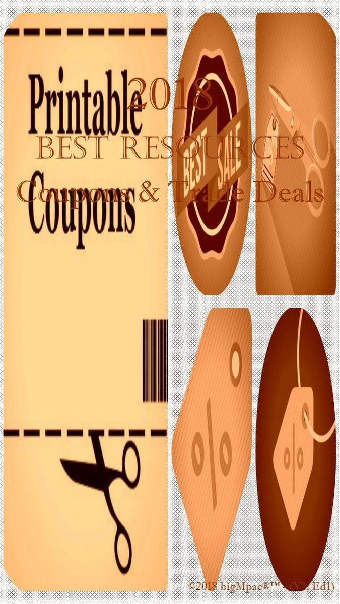 2018 Best Resources for Coupons & Trade Deals
