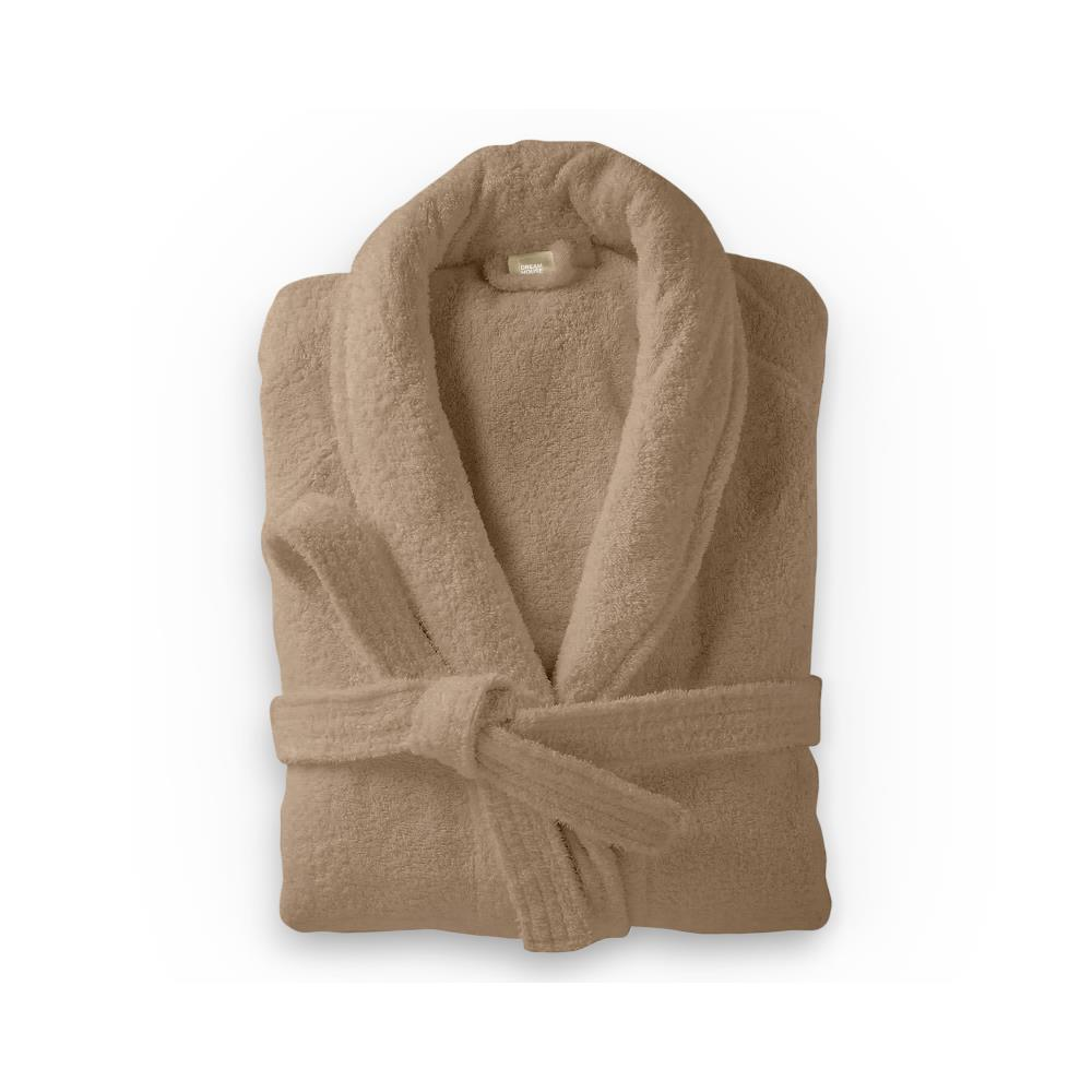 Badjas Soft Terry - Taupe - L/XL