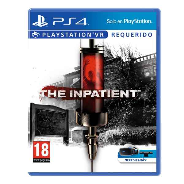 PlayStation 4-videogame Sony The Inpatient (Refurbished A+)