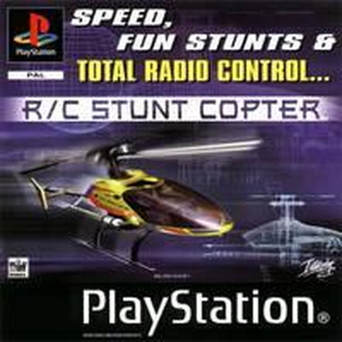 [Playstation 1] R/c Stunt Copter